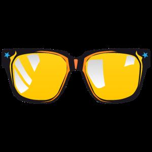 ausgefallene Sonnenbrille 5042 o