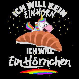 Einhorn isst EinHörnchen-lustiger Spruch Kinder