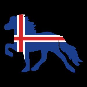 Islandpferd - Flagge