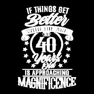 40 Geburtstag geschenk zum 40