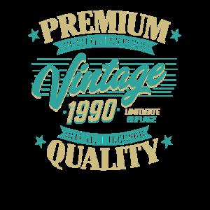 30 Geburtstag 1990 vintage