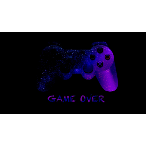 game over joystick controller
