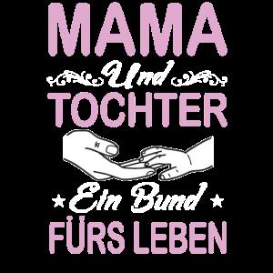 Muttertag Mama und Tochter ein Bund fürs Leben