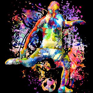 Fussball spielen - Fussball - Fussballspieler
