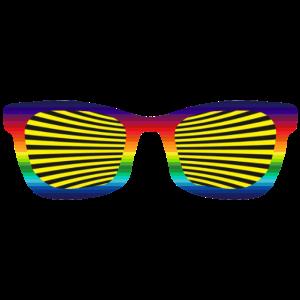 ausgefallene Sonnenbrille 504 o