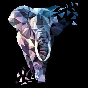 Polygon mit Elefant