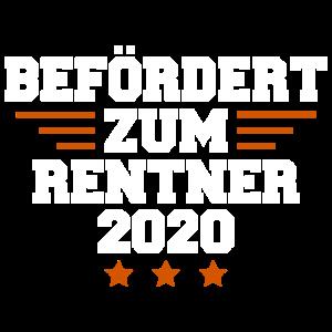 BEFÖRDERT ZUM RENTNER 2020