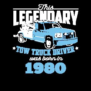 40 Geburtstag Abschleppdienst 1980