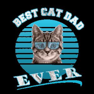Best Cat Dad ever Design. Bester Katzenvater
