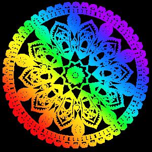 Chakra Colours Mandala