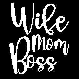 WIFE MOM BOSS - Geschenk zum Muttertag