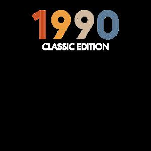 Retro 30 Jahre Jahrgang 1990 30. Geburtstag