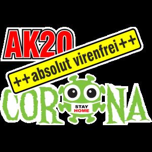 AK 20 Corona virenfrei 2020