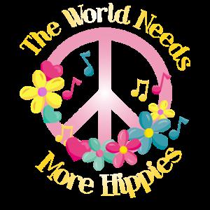 The World Needs More Hippies Hippie Flower Power