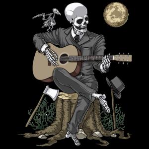 Skeleton Gitarrist