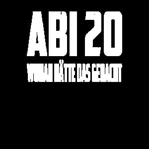 ABI 20 ABITUR 2020 ABISHIRT ABIMOTIV