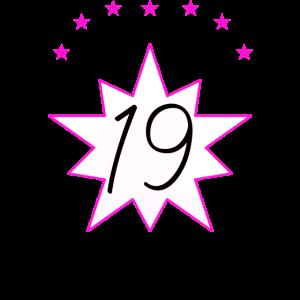 19, Geburtstag
