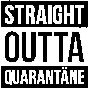 STRAIGHT OUTTA QUARANTÄNE | VINTAGE GRUNGE