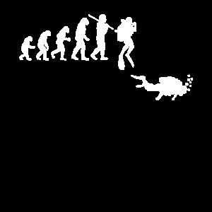 Evolution Tauchen für Taucher