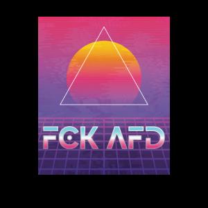 fck afd retro vaporwave 80s