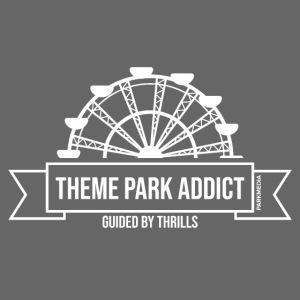 Insigne de parc à thème Addict