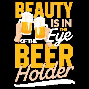 Schönheit liegt im Auge des Bierträgers