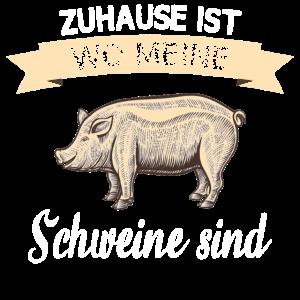 Landwirt Bauer Schweine Spruch Bauernhof Beruf