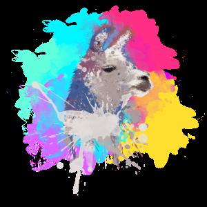 Buntes Lama