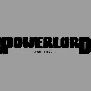 Powerlord Schriftzug est.1992