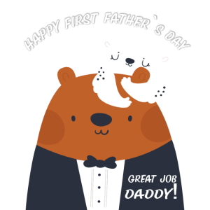 Happy first Father´s Day - Love you Bär Outfit