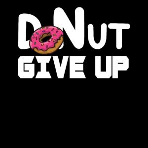 Gib Donut nicht auf, gib auf