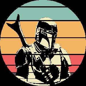 Retro Mandalorian