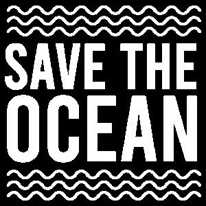 Fisch Save the Ocean Lustige Geschenkidee