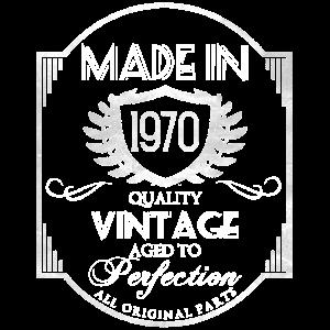 1970 vintage 50. Geburtstag
