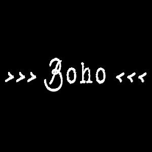 Boho Schriftzug Bohemien