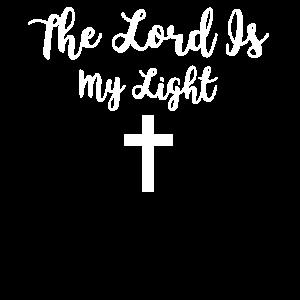 Der Herr ist mein Licht - Psalm 27 Kreuzdruck