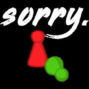 Sorry Mensch ärgere dich nicht Figur Figuren Brett