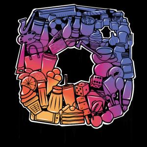 Instagram doodle logo