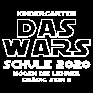 Kindergarten - DAS WARS - Schule 2020 - Star - War