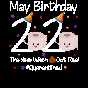 Mai Geburtstag 2020 unter Quarantäne gestellt