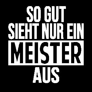Herren Meister Meisterbrief Meisterschule Geschenk