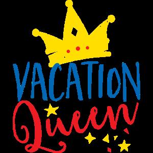 Lustiges T-Shirt der Ferienkönigin