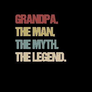Opa der Mann der Mythos die Legende Design