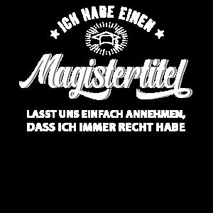 Magister Spruch Sponsion Magisterabschluss