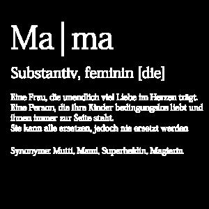 Mama Duden Definition Muttertag Geschenk