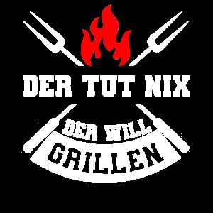 Grillen Grillmeister Fleisch Geschenk