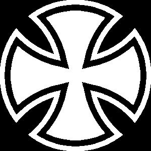 Eisernes Kreuz rund