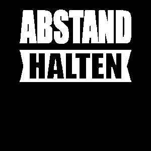 ABSTAND HALTEN