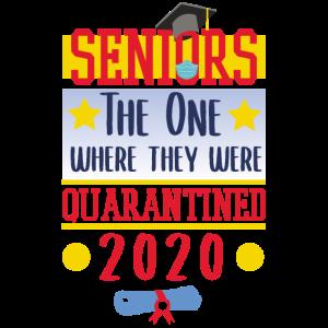 Senioren, wo sie 2020 unter Quarantäne gestellt wurden