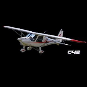 C42 Ultraleichtflugzeug Flugzeug Flieger
